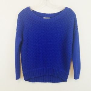 American Eagle Blue Cotton Sweater XS